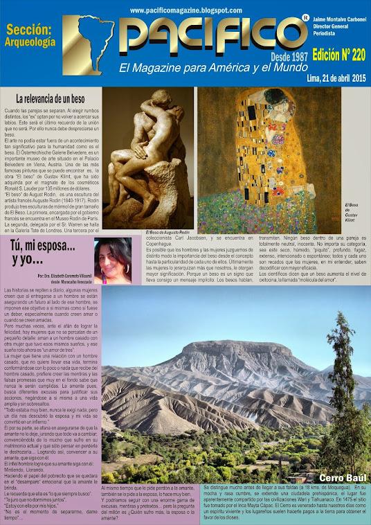 revista Pacífico Nº 220 Arqueología