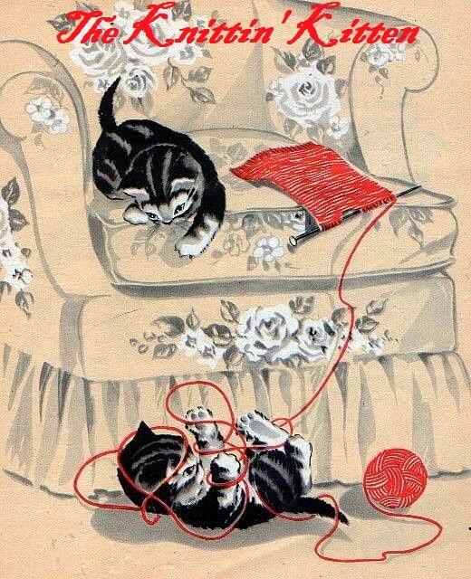 The Knittin' Kitten