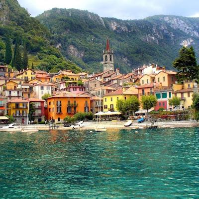 Ciudad de Varenna en Italia - Italy photos