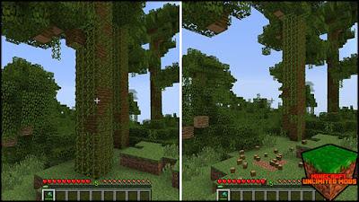TreeCapitator Mod Minecraft 1.7.10