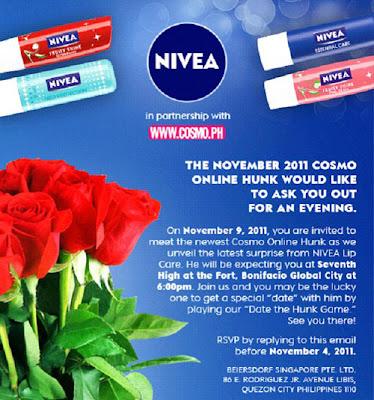 Nivea + Cosmo KissMark Invite
