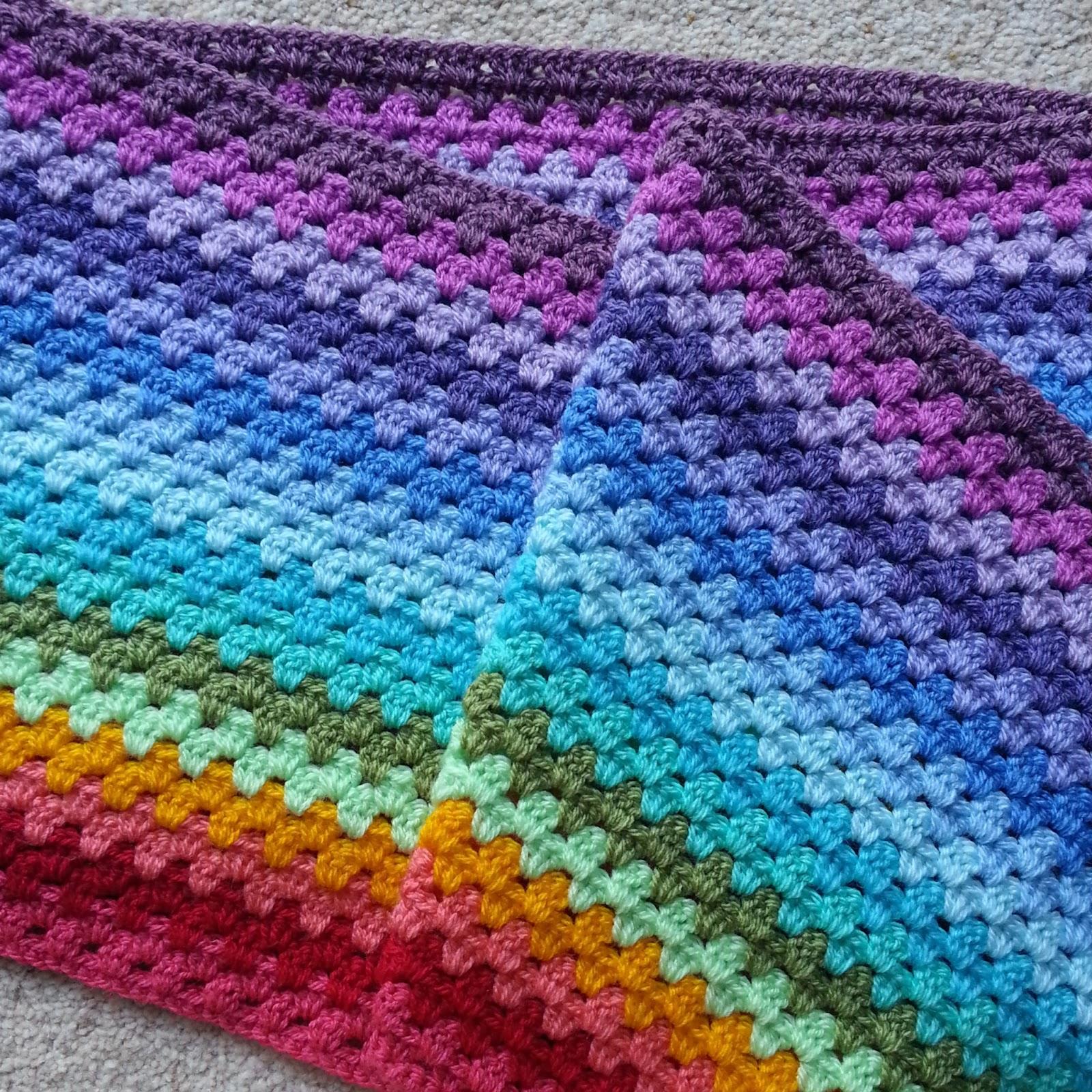 Granny Stripe Blanket Pattern Custom Design Inspiration