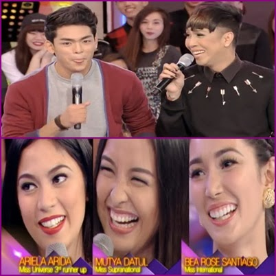 Ariella Arida, Mutya Datul, Bea Rose Santiago, G Force Stallions on GGV (January 12)