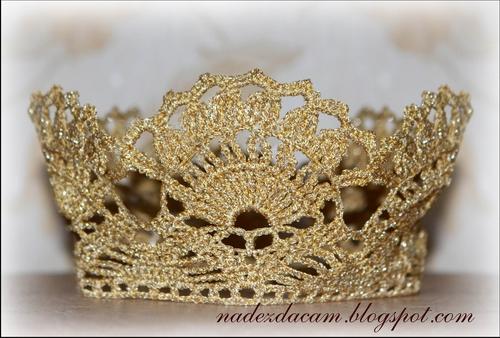 Корона красивая своими руками