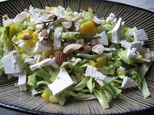 kålsalat med feta