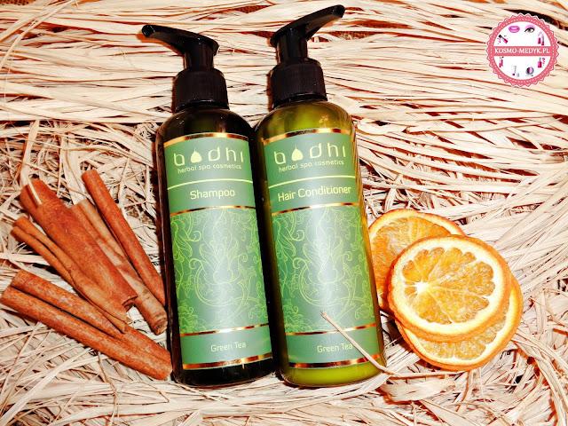 Podróż do odległej Tajlandii - Bodhi Cosmetics, szampon i odżywka zielona herbata