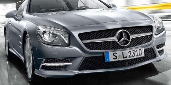 Mercedes Dilarang Jual Mobil di Inggris