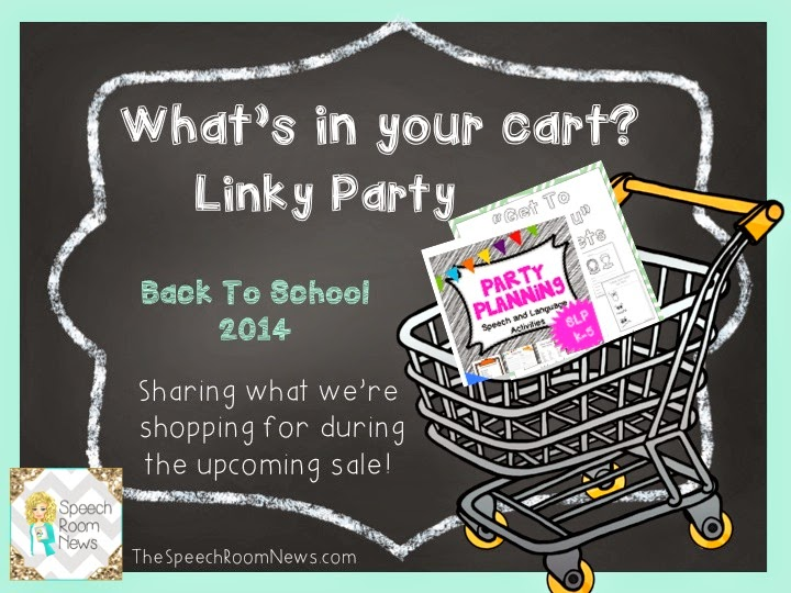 http://thespeechroomnews.com/2014/07/whats-in-your-cart-linky-party-2.html