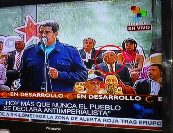 Padre de presidente Ollanta participa en Venezuela de Homenaje a Hugo Chávez