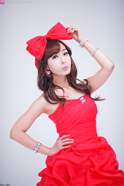2 Heo Jung Hyun - Like a Rose-very cute asian girl-girlcute4u.blogspot.com