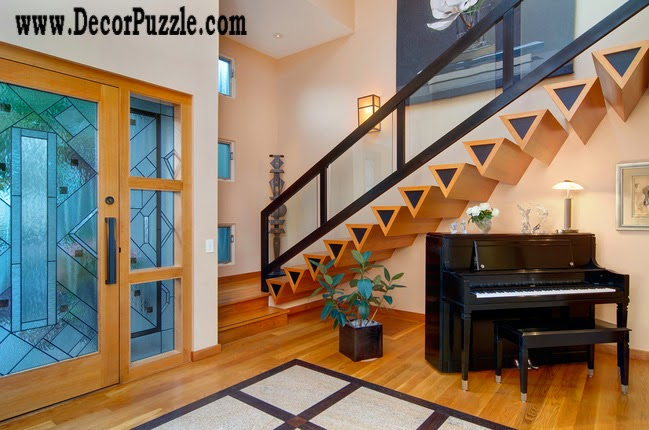 Innovative planing under stairs ideas and storage solutions, modern staircase designs