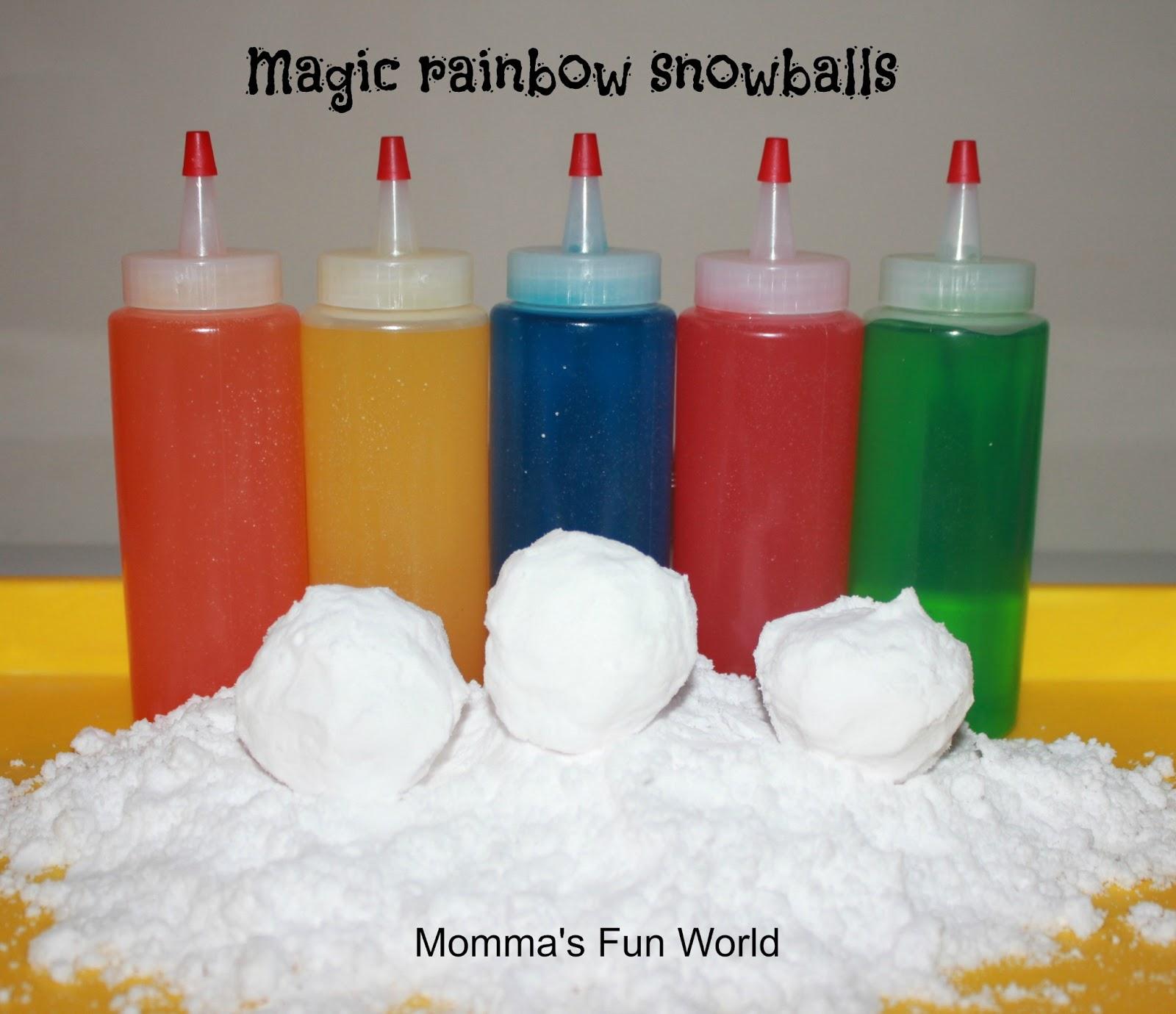 Momma\'s Fun World: Dancing powder kid science