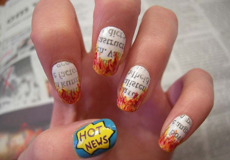 cute nail designs fashionable