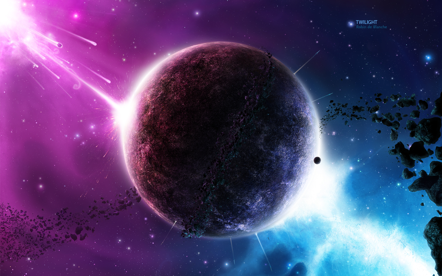 info wallpapers: fantasy space wallpaper