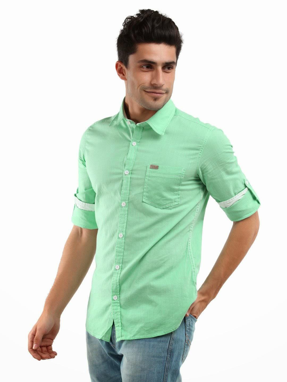 imagenes de camisas manga larga para hombres - Prendas para la parte superior para hombre Camisetas
