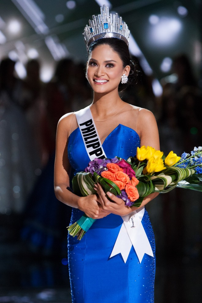 the winner at the conclusion of The 2015 MISS UNIVERSE Miss Universe