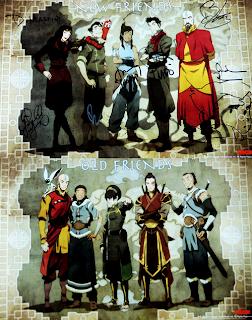 Avatar korra zuko y katara adultos avatar korra libro 2 dos temporada