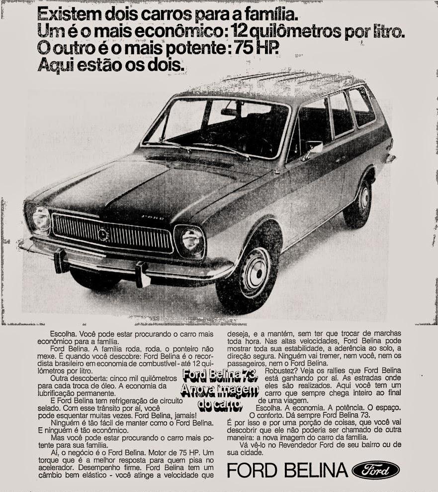 1972; brazilian advertising cars in the 70s; os anos 70; história da década de 70; Brazil in the 70s; propaganda carros anos 70; Oswaldo Hernandez;