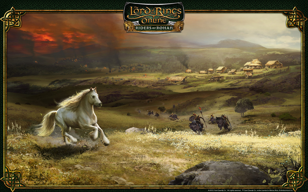 ART OF JAMES WOLF: LOTRO Riders of Rohan