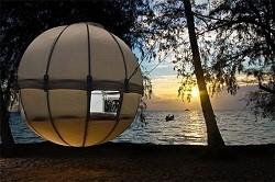 Tenda Gantung Kepompong