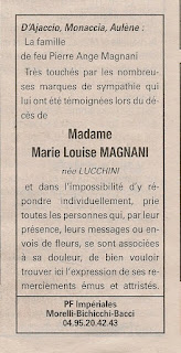 Remerciements Magnani Lucchini