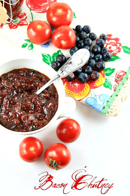 ... Farm: Bacon Chutney with Apples, Blueberries, and Tomatoes