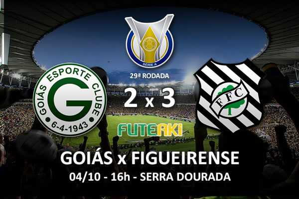 Veja o resumo da partida com os gols e os melhores momentos de Goiás 2x3 Figueirense pela 29ª rodada do Brasileirão 2015.