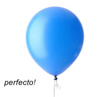 que hacer para que todos los globos nos queden igual de tamaño pues ...