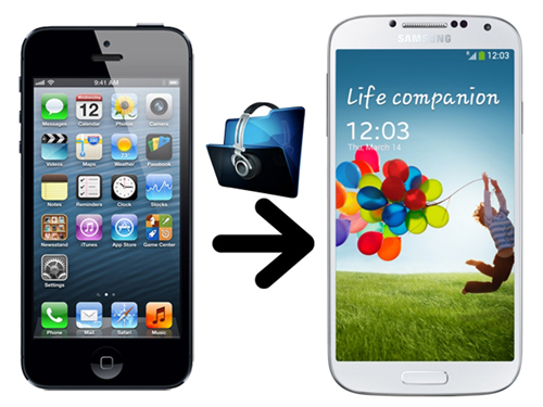 Transfer music from iPhone 5 to Galaxy S4