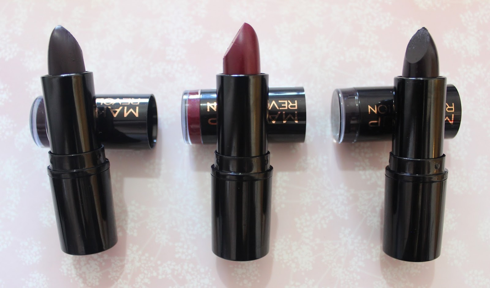 Makeup Revolution Vamp Lipstick Collection