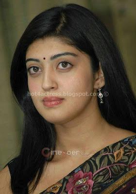 Pranith in saree sexy photo