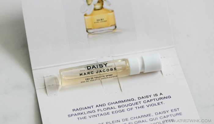 Daisy Marc Jacobs eau de toilette sample
