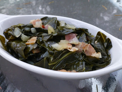 COOK WITH SUSAN: Collard Greens with Bacon
