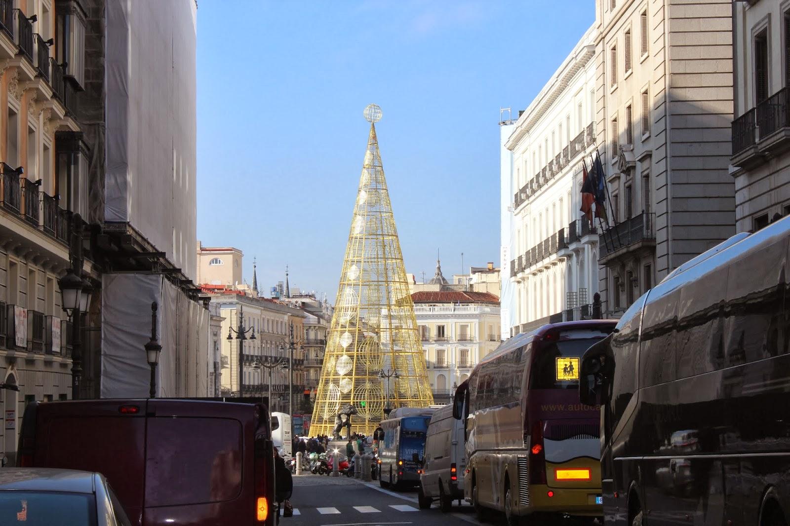 Madrid villa y corte madrid puerta del sol for Corte ingles puerta del sol madrid