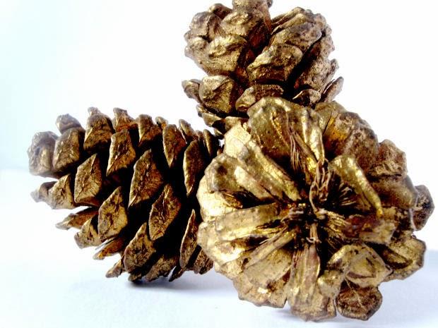 Mix magazine pretty pinecones