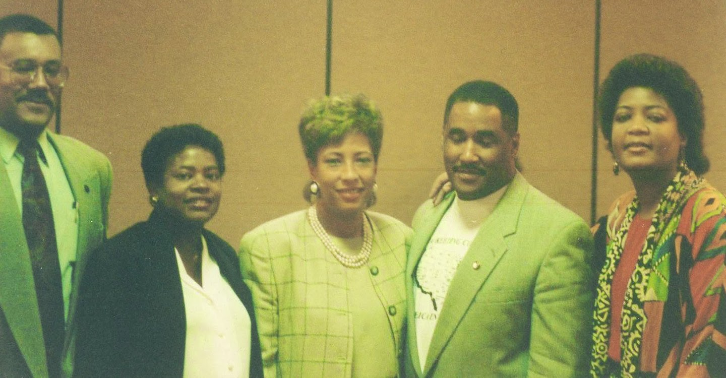bdpa foundation wordless wednesday national bdpa officers 1993 posted by wayne hicks at 9 45 am