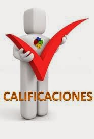 CALIFICACIONES