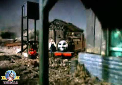 Thomas and friends Toby the tram engine and Henrietta the ghost old warrior spirit wants to meet you