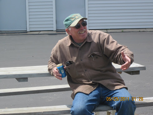 Tom Celebrates Fishing Success