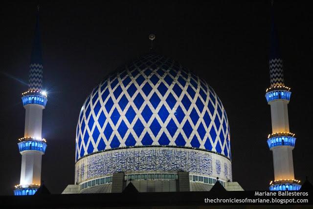 Blue Mosque selangor