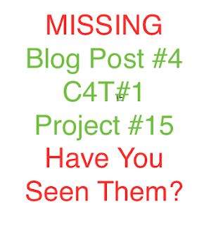 Missing Posts. Have you seen them?