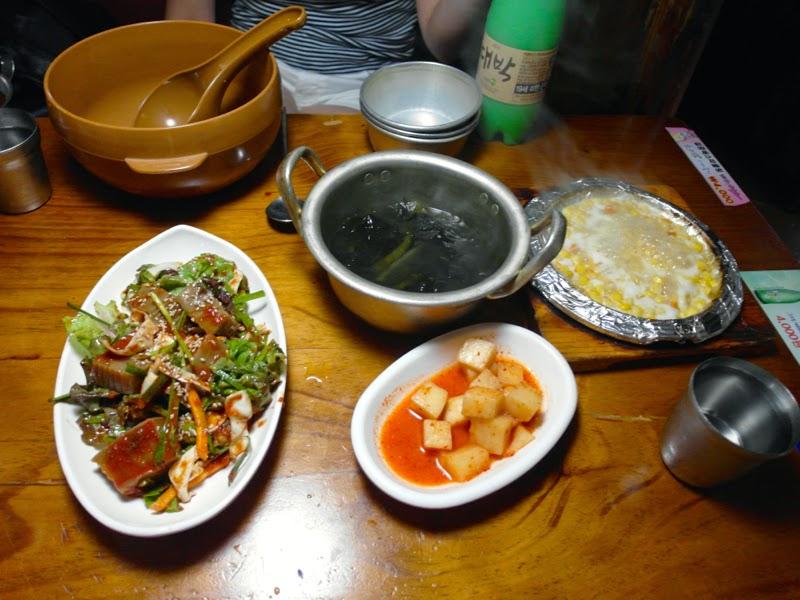 Ewha University Summer Studies Drinking Maekgeolli Seoul South Korea lunarrive travel blog