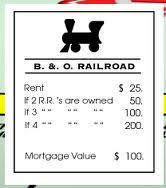 B amp O Railroad  Monopoly Wiki  FANDOM powered by Wikia