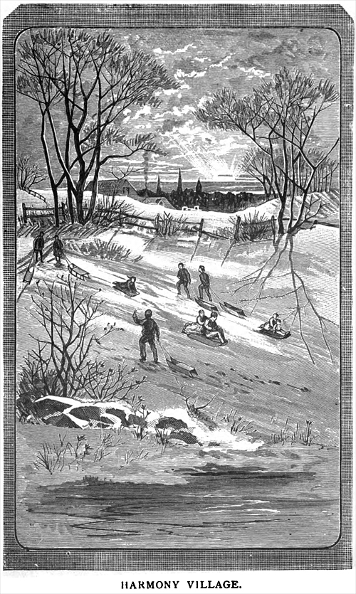 """""""Clear the lulla!"""" was the general cry when all the boys and girls were out enjoying the first good snow of the season."""