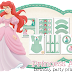 Princess Ariel Free Printable Kit.