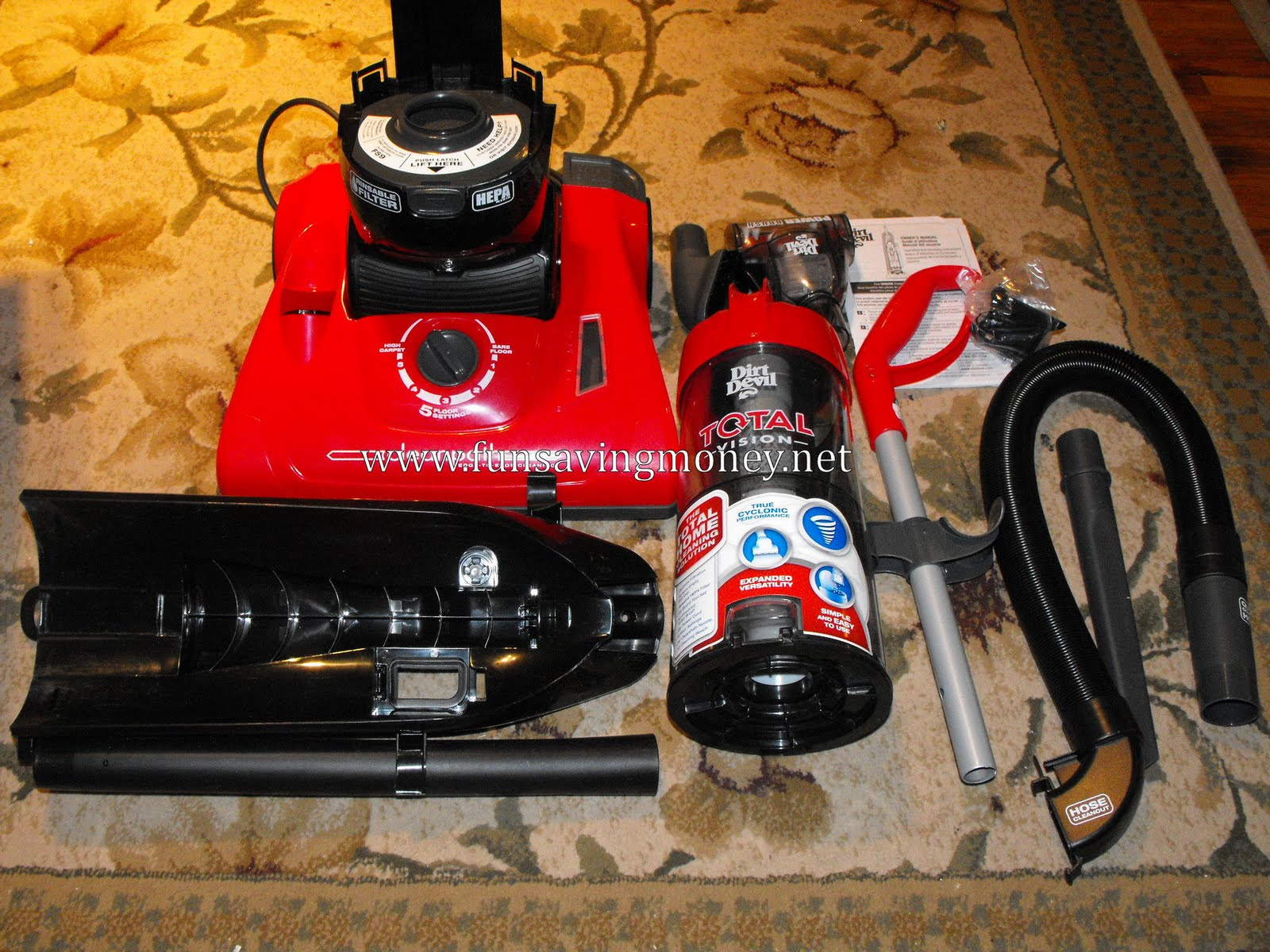 Dirt Devil Total Vision Vacuum Review Spring Into Summer