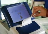 Máquina de votar