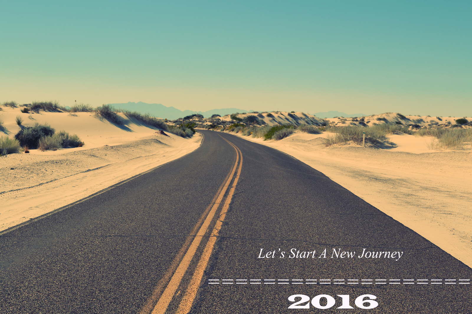 new journey happy new year 2016 hd wallpapers