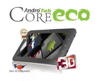 Pixcom AndroTab Core ECO Tablet Android Spesifikasi Lumayan, Harga Terjangkau