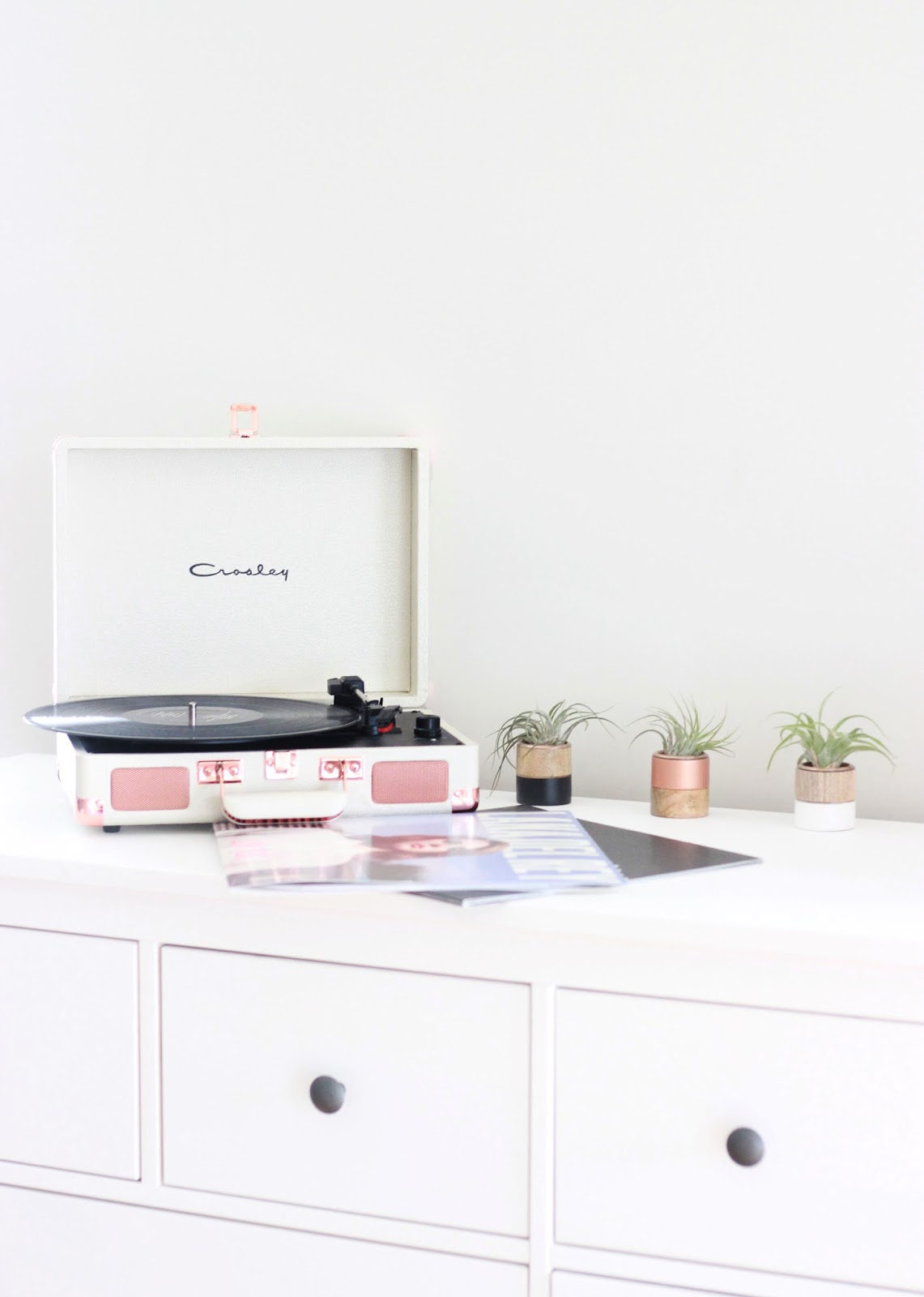 Crosley Cruiser Rose Gold Record Player
